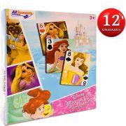 Festa Lembrancinha 12 Unidades Mini Baralho Princesas Disney