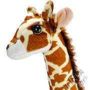 Girafa Safari Bicho Pelúcia Grande de 45 cm Altura