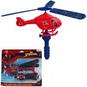 Helicóptero com Lançador Homem Aranha Marvel