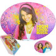 Jogo Americano High School Musical Mais Bloco De Notas Disney