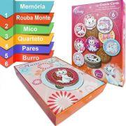 Baralho Redondo Jogo Cookie Cards Marie Disney Toyster