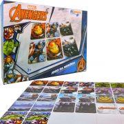 Jogo da Memória Avengers Vingadores Marvel 26 Cartas