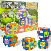 Jogo da Memória Blocos de Montar Dinossauro Dino Amigo - Big Star