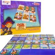 Jogo da Memória Capitão Jake O Piratinha Disney 26 Cartas