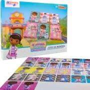 Jogo Memória Doutora Brinquedos Cartonado Destaque E Brinque