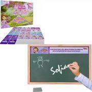 Jogo Da Memória E Lousa Verde Princesa Sofia Disney