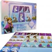 Jogo Memória Educativo Frozen Cartonado Destaque E Brinque