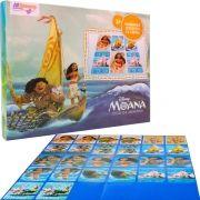 Jogo da Memória Moana Brinquedo Educativo 26 Cartas Disney