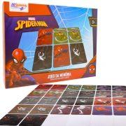 Jogo da Memória Spider-man Educativo 26 Cartas Marvel