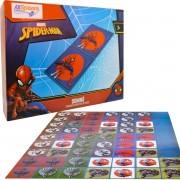 Jogo de Dominó Homem Aranha Marvel