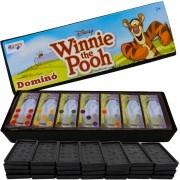 Jogo de Dominó Tigrão Colorido Winnie the Pooh Disney