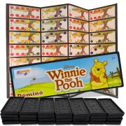 Jogo de Dominó Winnie the Pooh O Ursinho da Disney