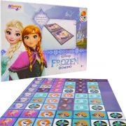 Jogo De Dominó Educativo Frozen Cartonado Destaque E Brinque