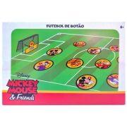 Jogo Futebol de Botão com 2 Times Mickey Mouse Disney