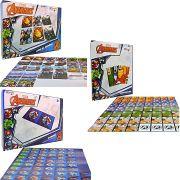 Memória Dominó Baralho Vingadores Cartonados Destaque e Brinque