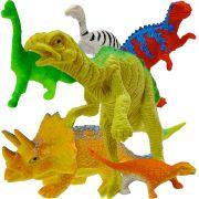 Kit 6 Mini Dinossauros Animais Jurássicos mais 6 Acessórios Aproveite