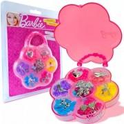 Kit Estojo com Miçangas Barbie Flor - Fun