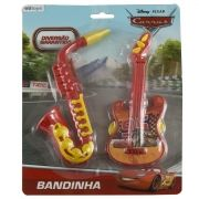 Kit Musical Bandinha Saxofone e Pandeiro Carros Disney