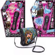 Kit Trançador E Aplicador De Contas Para Cabelos Bolsinha Cleo De Nile Monster High