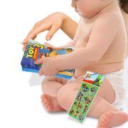 Livro de Pelúcia Toy Story Especial para Bebê mais Brinde
