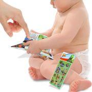 Livro de Pelúcia Toy Story para Bebê mais Adesivo