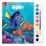 Livro para Colorir Aquarela Procurando Dory Disney - DCL