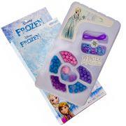 Miçangas Kit Beleza Monte Suas Pulseiras Frozen Disney