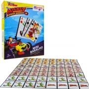 Mini Baralho Jogo de Cartas Mickey Aventuras 56 Cartas Disney