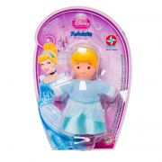 Mini Boneca Fofolete Cinderela Princesas Disney - Estrela