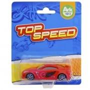 Mini Carrinho de Plástico Top Speed Vermelho - Ark Toys
