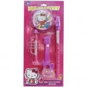 Coleção com 4 Instrumentos Musicais Hello Kitty - Toyng