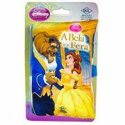 Mini Livro de Pelúcia A Bela e a Fera Princesas Disney