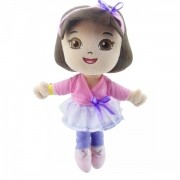 Mini Pelúcia Dora Aventureira Bailarina Nickelodeon - Taimes