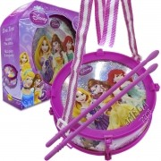 Mini Tambor com Luzes Tom Tom Princesas Disney - Yellow