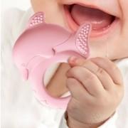 Mordedor Argola Golfinho Rosa - Toyster