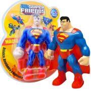 Mordedor Superman Boneco Macio Anatômico e Higiênico