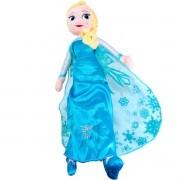 Boneca de Pelúcia Frozen Elsa Disney Long Jump