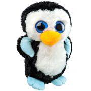 Pelúcia Pinguim de Olhos Azuis