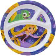 Prato Com Divisórias Infantil Rapunzel Enrolados Disney - Gedex