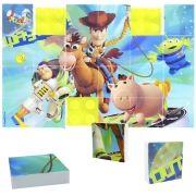 Quebra Cabeça Mosaico de Plástico com 24 Peças Toy Story Disney