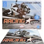 Quebra Cabeça de 100 Peças Moto Racing - Big Star