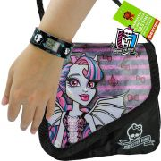 Relógio Digital Bracelete Monster High Mais Bolsa Rochelle