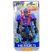 Robô Articulado Guerreiro 12 Cm Super Heróis Earth