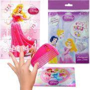 Sacolinha  Surpresa Aurora com Pente Princesas Disney
