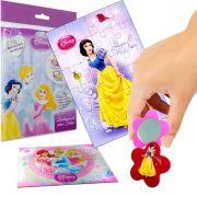 Sacolinha  Surpresa  Branca de Neve com Espelho Princesas Disney +4 Itens