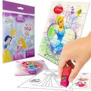 Sacolinha  Surpresa  Cinderela com Borracha Princesas Disney + 4 Itens