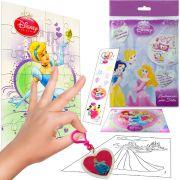 Sacolinha  Surpresa Cinderela com Chaveiro Princesas Disney + 4 Itens