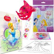 Sacolinha Surpresa Cinderela com Piranha de Cabelo Princesas Disney