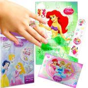 Sacolinha Surpresa Sereia Ariel com Anel Princesas Disney +4 Itens