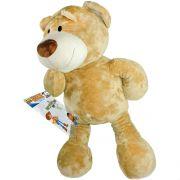 Urso de Pelúcia Caramelo Grande 80 cm Importado